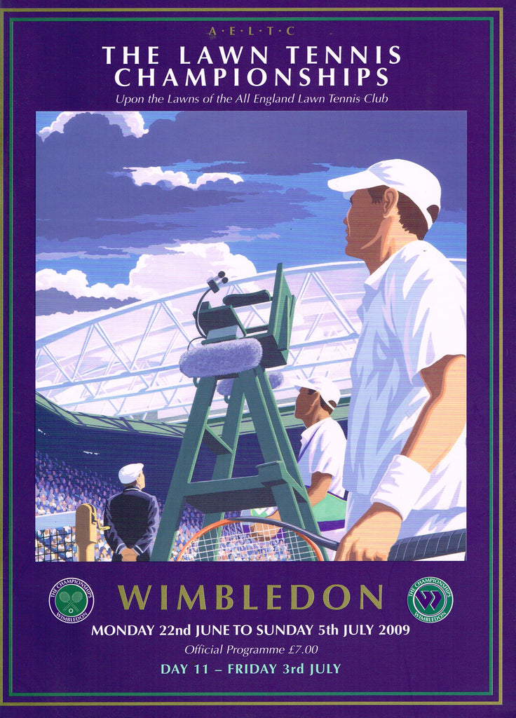 2009 Wimbledon Programme - Friday July 3rd
