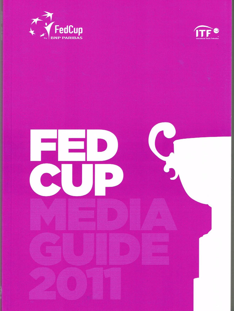 2011 Fed Cup Media Guide