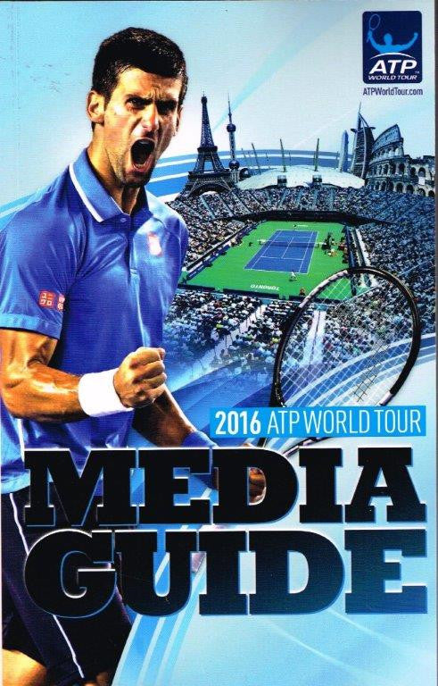 2016 ATP and WTA Tour Media Guide