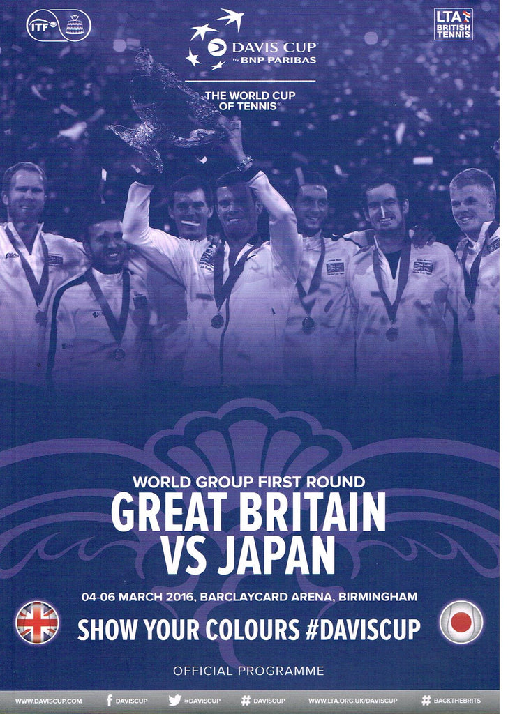 Great Britain vs Japan 2016