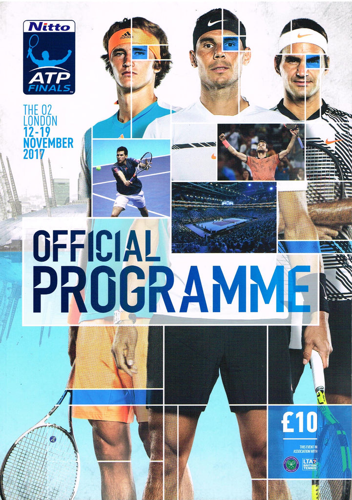 2017 ATP World Tour Finals Official Programme