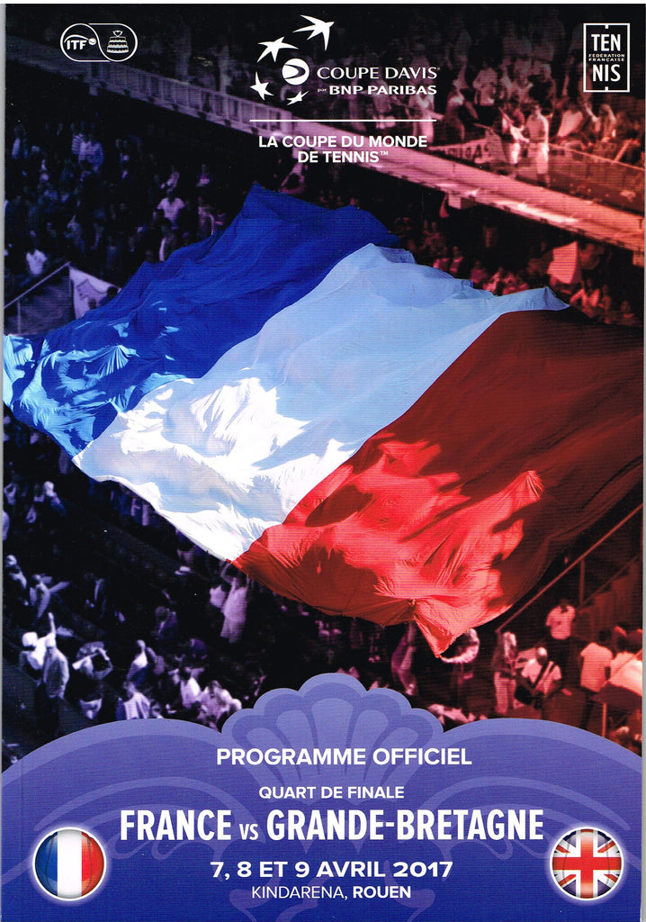 France vs Great Britain Programme