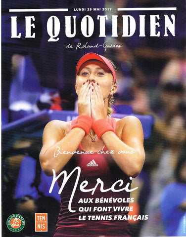 2017 French Open Programme
