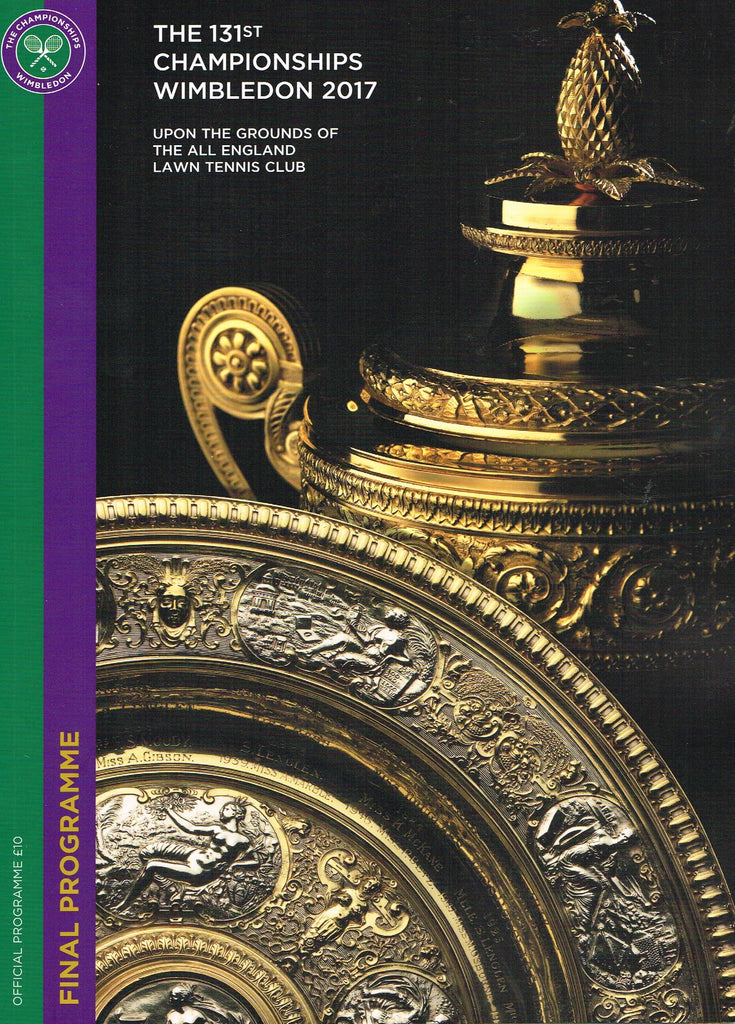 WIMBLEDON CHAMPIONSHIPS 2017 Final Programme with Full Results