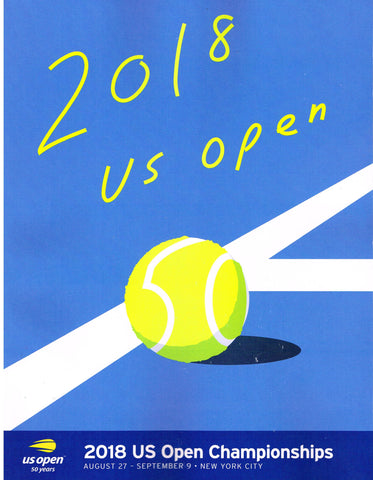 2018 US Open Program