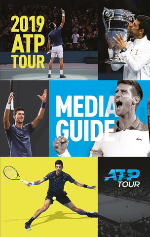 2019 ATP / WTA Tour Media Guide LAST FEW