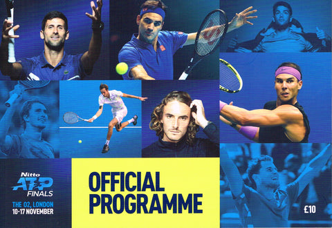 2019 NITTO ATP FINALS Official Programme