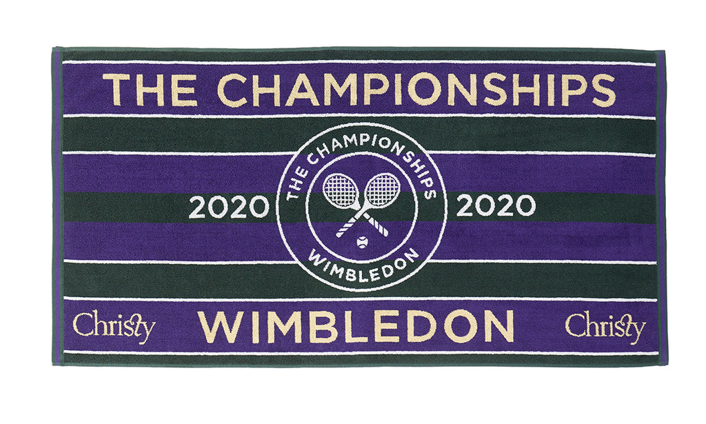 WIMBLEDON MEN'S PLAYER TOWEL 2020
