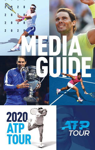 #3 BESTSELLER: 2020 ATP / WTA TOUR MEDIA GUIDE