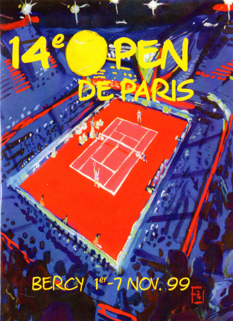 1999 Paris Open Poster Print