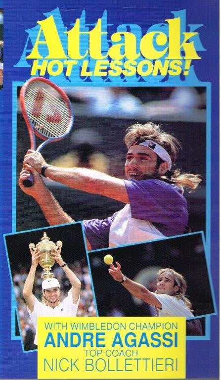 Andre Agassi - Attack: Hot Lessons!