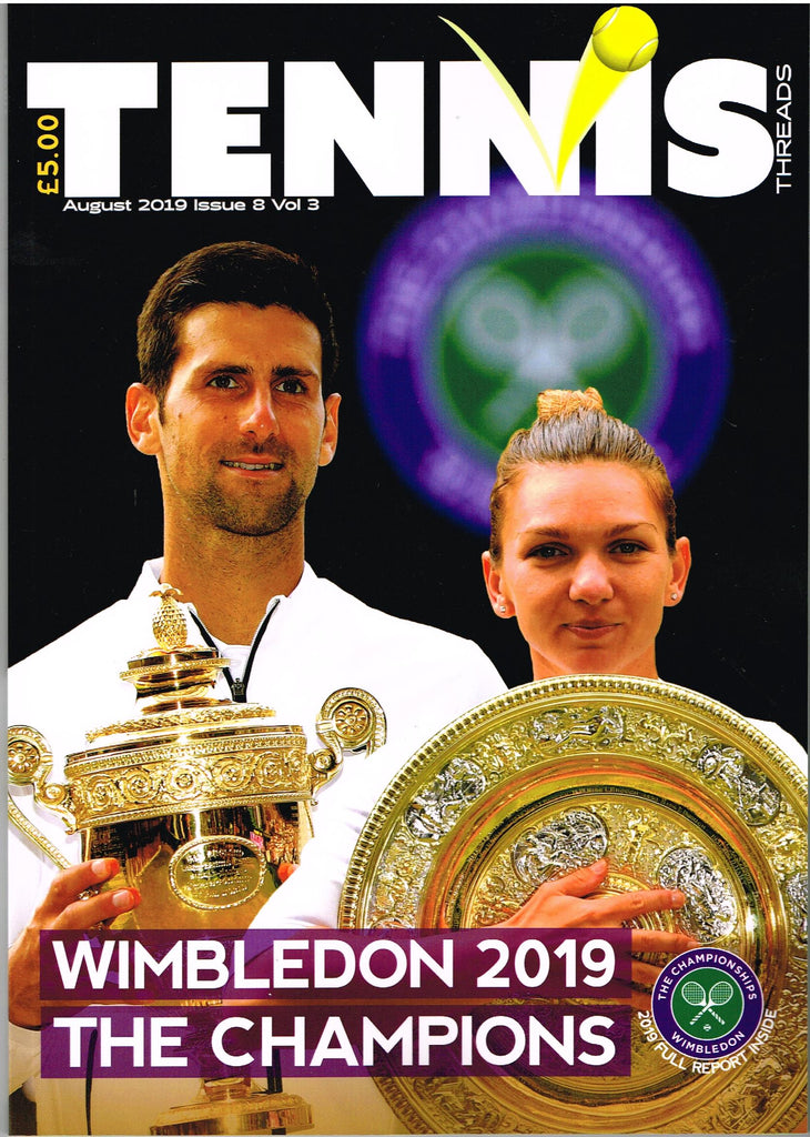 TENNIS THREADS MAGAZINE August 2019 Issue