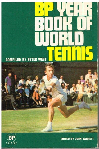 1969 BP Year Book of World Tennis BACK IN STOCK