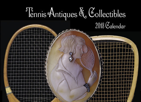 2018 Tennis Antiques & Collectibles Calendar