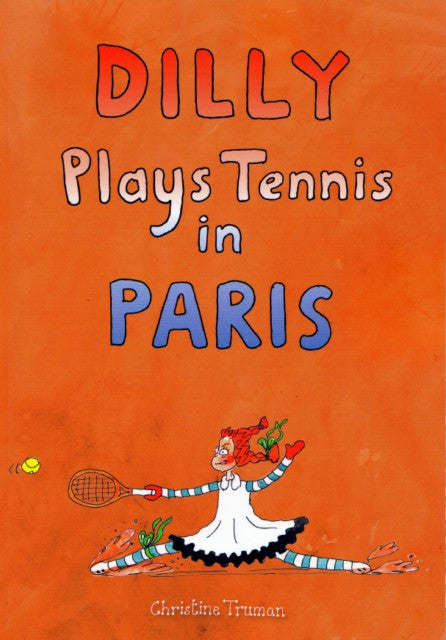 Dilly Plays Tennis in Paris
