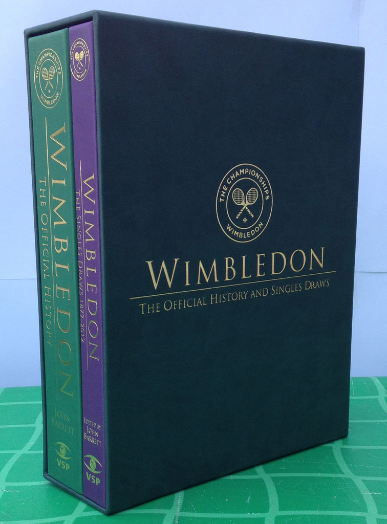 Wimbledon - The Official History: All England Lawn Tennis Club Members' Limited Edition Casebound Set