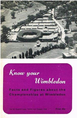1979 Know Your Wimbledon