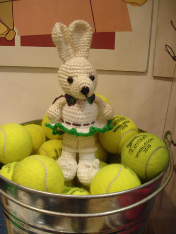 "Tennis Mascot ""Minnie Bunny"" !"
