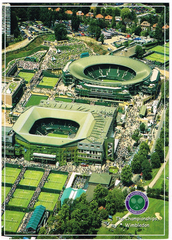 POSTCARD Aerial View of the All England Club #1