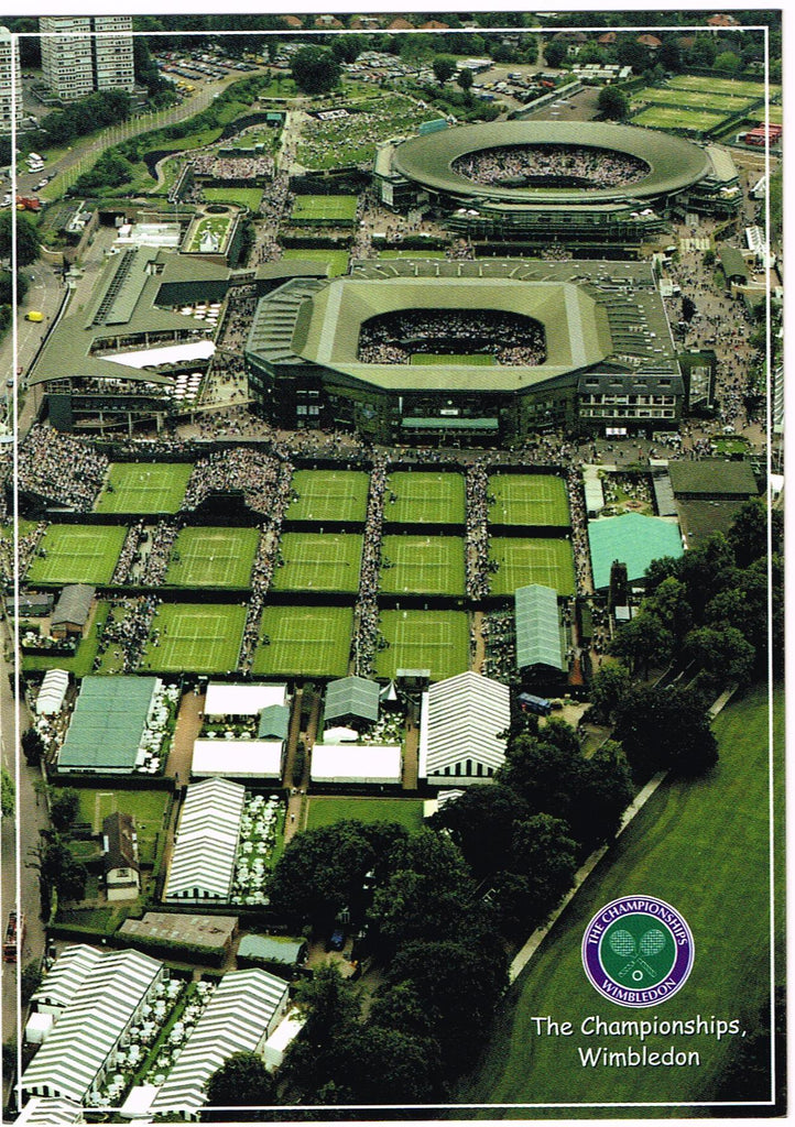 POSTCARD Aerial View of the All England Club #2