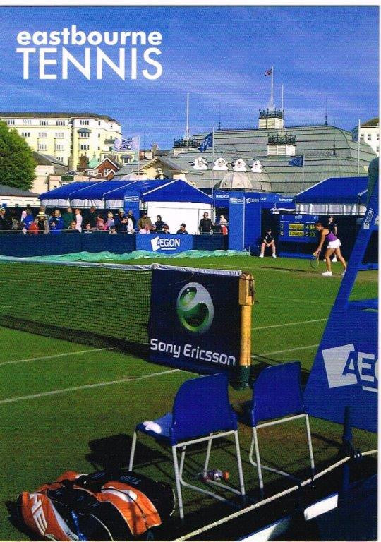 POSTCARD  Eastbourne Tennis