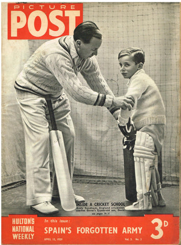 1939 Picture Post Magazine - April 15, 1939