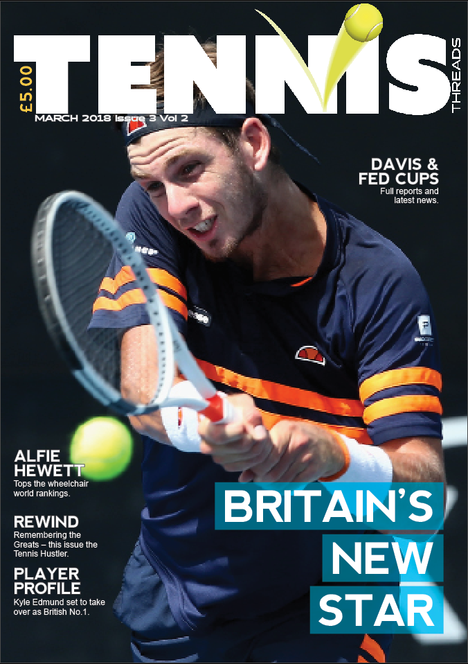TENNIS THREADS MAGAZINE March 2018 Issue