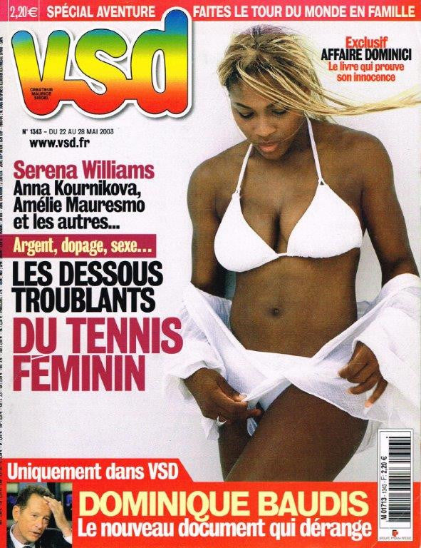 Serena Williams - VSD Magazine 2003