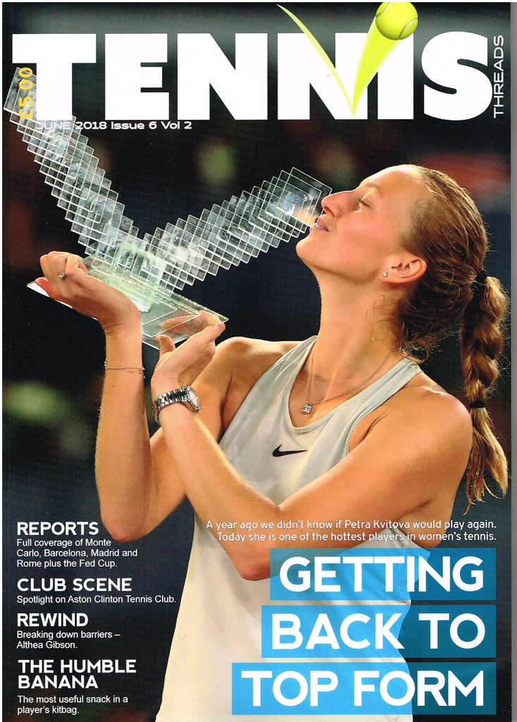 TENNIS THREADS MAGAZINE June 2018 Issue