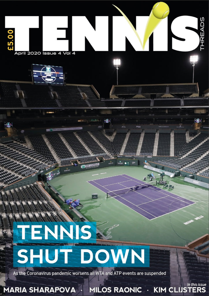 TENNIS THREADS MAGAZINE April 2020 Issue
