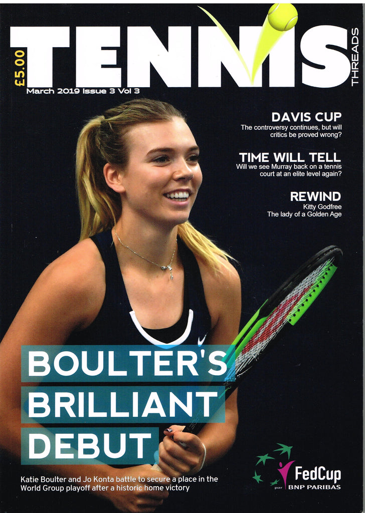 TENNIS THREADS MAGAZINE March 2019 issue