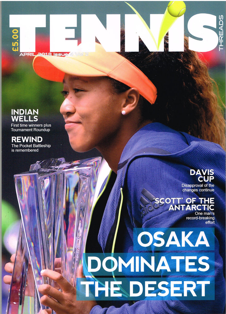 TENNIS THREADS MAGAZINE  April 2018 Issue