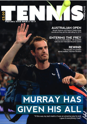 TENNIS THREADS MAGAZINE February 2019 Issue