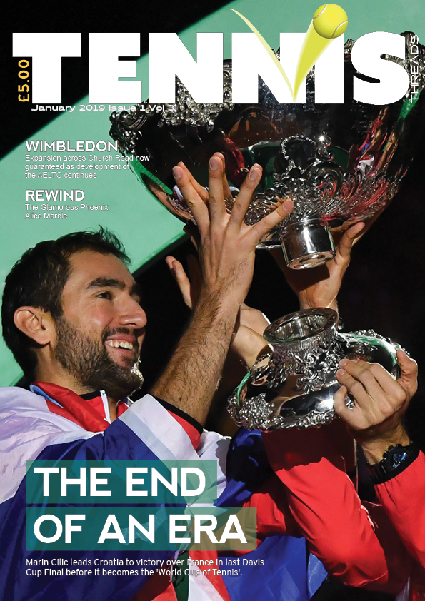 TENNIS THREADS MAGAZINE January 2019 Issue