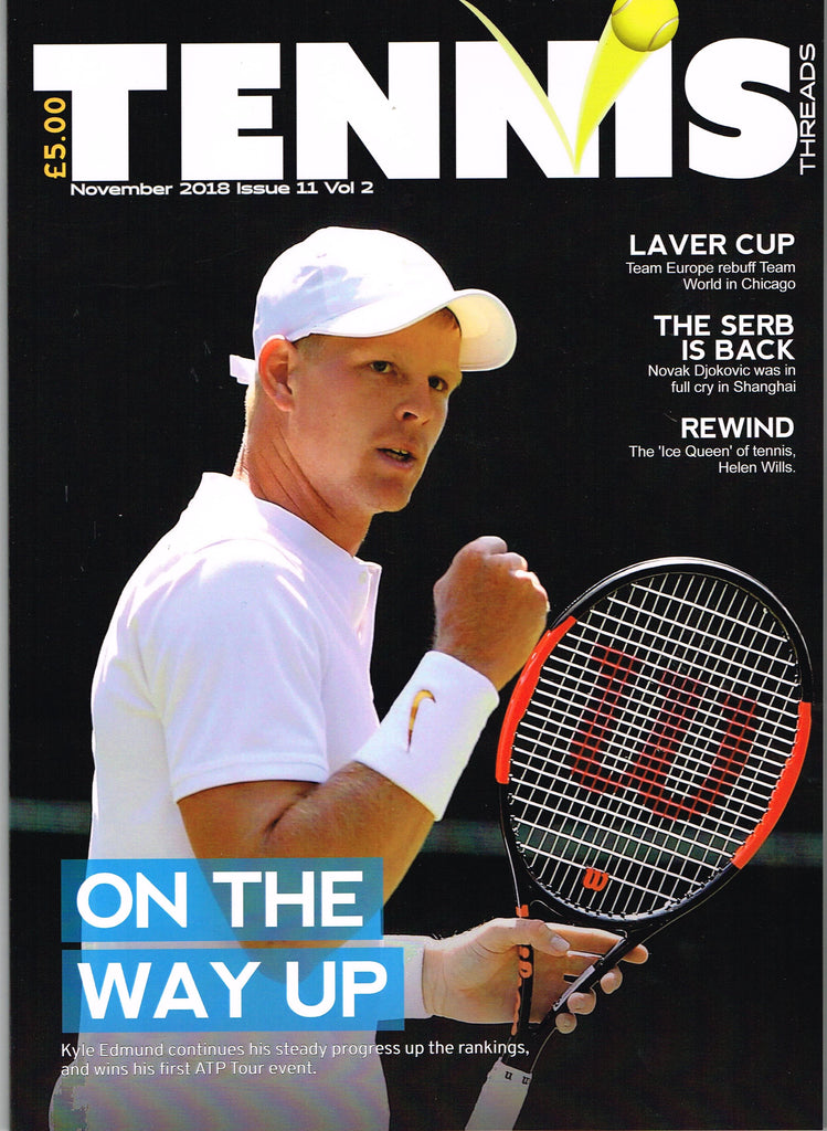 TENNIS THREADS MAGAZINE November 2018 issue