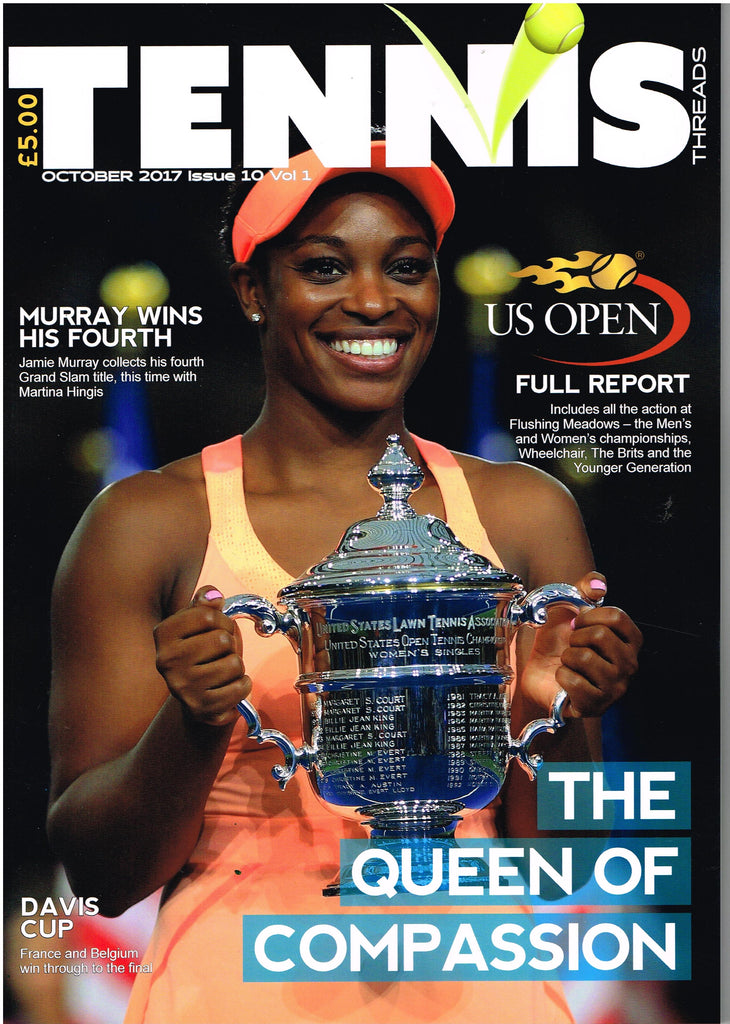 TENNIS THREADS MAGAZINE October 2017 Issue