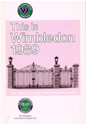 1989 This is Wimbledon
