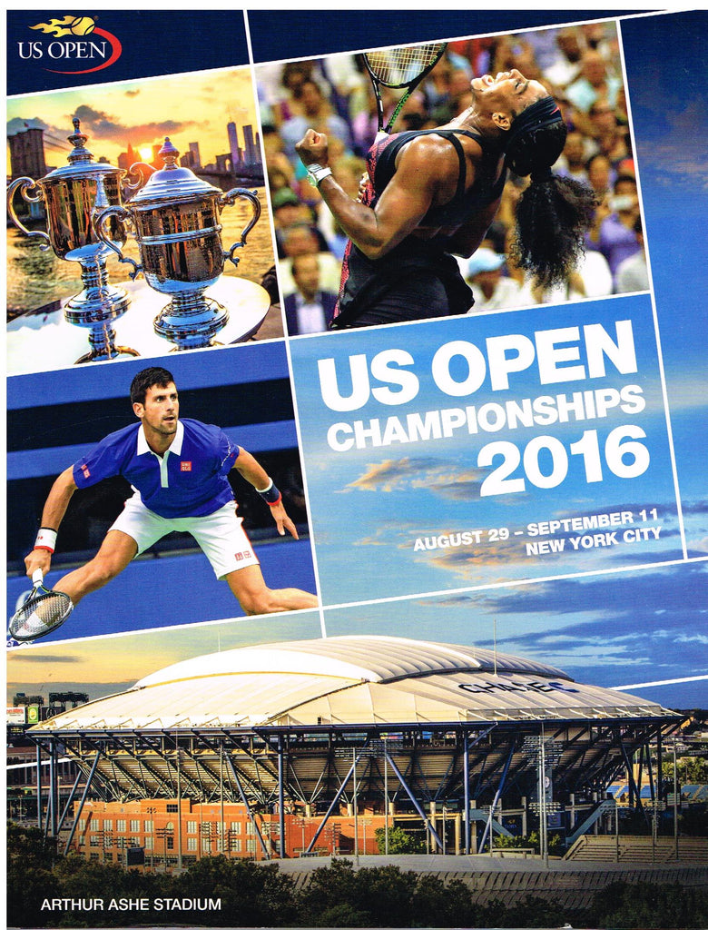 2016 US Open Official Program