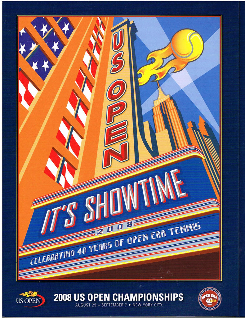 2008 US Open Program