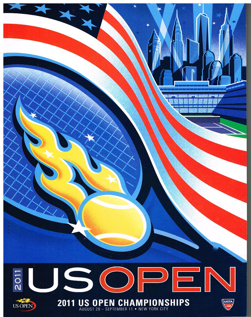 2011 US Open Program