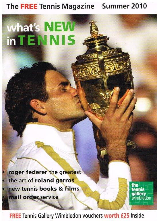 What's New in Tennis magazine Issue 2 - Summer 2010