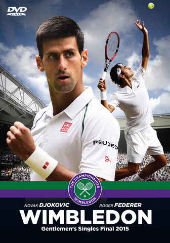 2015 Wimbledon Men's Final DVD