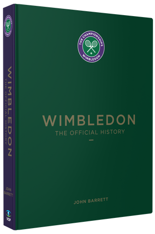 #1 BESTSELLER:  WIMBLEDON - THE OFFICIAL HISTORY New 2020 Edition Signed by John Barrett