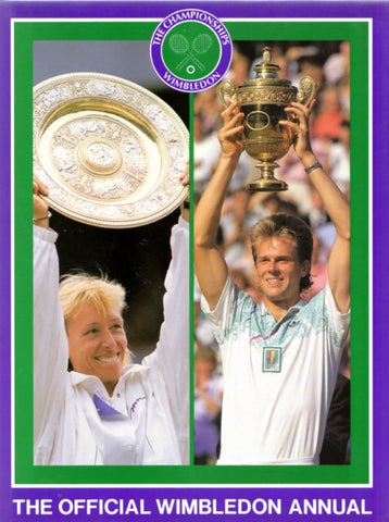 RARE BOOK: 1990 WIMBLEDON ANNUAL Special Offer