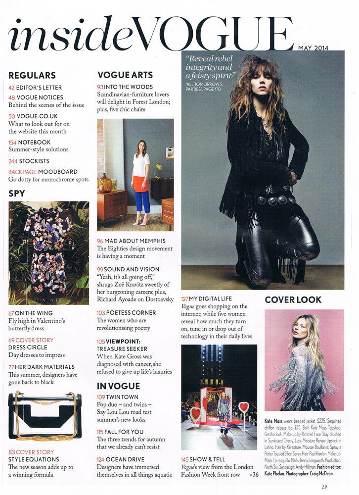 Vogue Into The Woods May 2014 Forest London
