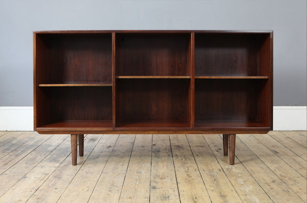 Long Rosewood Bookcase