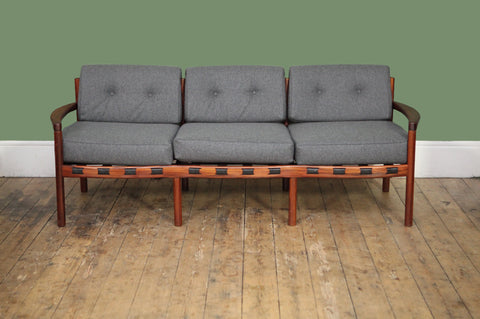 ON HOLD // Arne Norell three-seater sofa - Forest London
