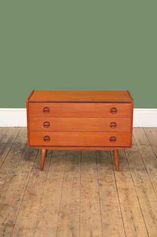 3-drawer Teak Chest - Forest London