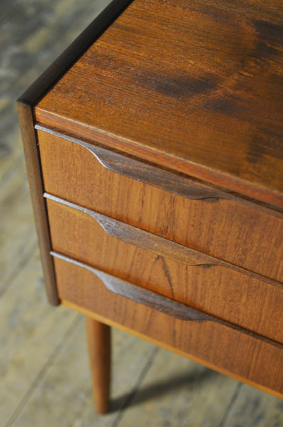 Sweet 3-Drawer Teak Chest - Forest London