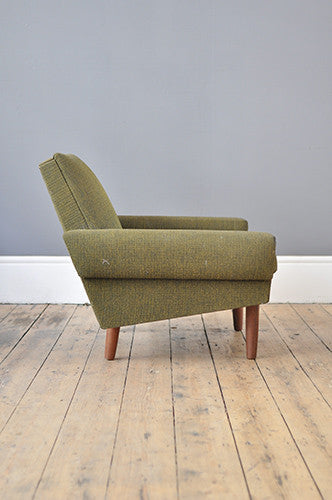 Angular Danish Armchair